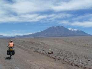 núria i els volcans San Pedro i San Pablo (+6000m)